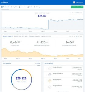 cryptocurrency wallet or exchange